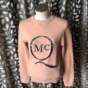 McQ Alexander Mcqueen Sweatshirt Lace Detail